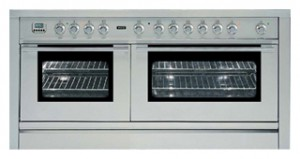 Buy Kitchen Stove ILVE PL-150F-MP Stainless-Steel online / Photo